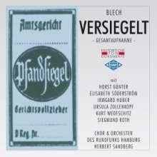Leo Blech (1871-1958): Versiegelt (Komische Oper in 1 Akt), 2 CDs