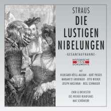 Oscar Straus (1870-1954): Die lustigen Nibelungen, 2 CDs