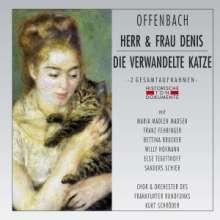 Jacques Offenbach (1819-1880): Herr & Frau Denis (Monsieur & Madam Denis/in dt.Spr.), 2 CDs