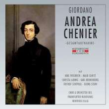 Umberto Giordano (1867-1948): Andrea Chenier (in dt.Spr.), 2 CDs