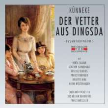 Eduard Künneke (1885-1953): Der Vetter aus Dingsda, 2 CDs
