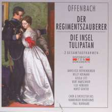 Jacques Offenbach (1819-1880): Der Regimentszauberer (in deutscher Sprache), 2 CDs