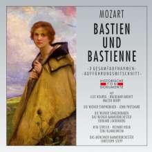 Wolfgang Amadeus Mozart (1756-1791): Bastien & Bastienne (3 Gesamtaufnahmen), 2 CDs