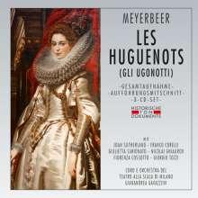 Giacomo Meyerbeer (1791-1864): Die Hugenotten (in italienischer Sprache), 3 CDs