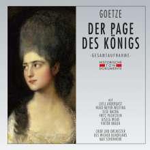 Walter Goetze (1883-1961): Der Page des Königs, 2 CDs