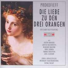 Serge Prokofieff (1891-1953): Die Liebe zu den drei Orangen, 2 CDs