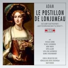 Adolphe Adam (1803-1856): Le Postillon de Lonjumeau (in schwedischer Sprache), 2 CDs