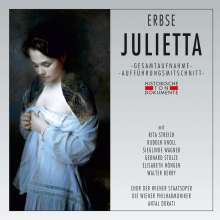 Heimo Erbse (1924-2005): Julietta, 2 CDs