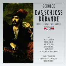 Othmar Schoeck (1886-1957): Das Schloß Dürande op.53, 2 CDs
