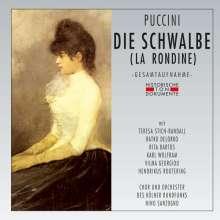 Giacomo Puccini (1858-1924): La Rondine (in deutscher Sprache), 2 CDs