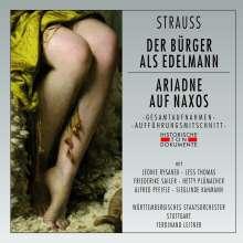 Richard Strauss (1864-1949): Der Bürger als Edelmann & Ariadne auf Naxos, 2 CDs