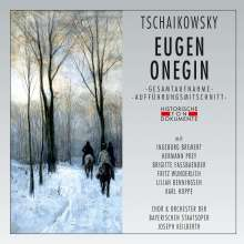 Peter Iljitsch Tschaikowsky (1840-1893): Eugen Onegin (in dt. Spr.), 2 CDs
