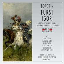 Alexander Borodin (1833-1887): Fürst Igor, CD