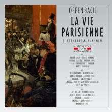 Jacques Offenbach (1819-1880): La Vie Parisienne (3 gekürzte Aufnahmen Aufnahmen), 2 CDs