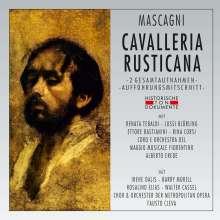 Pietro Mascagni (1863-1945): Cavalleria Rusticana (2 Gesamtaufnahmen), 2 CDs