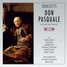 Gaetano Donizetti (1797-1848): Don Pasquale (in deutscher Sprache), 2 CDs