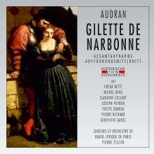 Edmond Audran (1842-1901): Gilette de Narbonne, 2 CDs