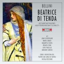 Vincenzo Bellini (1801-1835): Beatrice di Tenda, 2 CDs