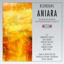 Karl-Birger Blomdahl (1916-1968): Aniara (Space Opera in schwedischer Sprache), 2 CDs