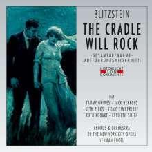 Marc Blitzstein (1905-1964): The Cradle will Rock (Broadway Musical), 2 CDs