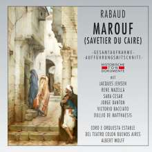 Henri Rabaud (1873-1949): Marouf, 2 CDs