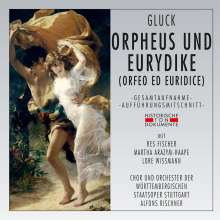 Christoph Willibald Gluck (1714-1787): Orpheus & Eurydike (in deutscher Sprache), 2 CDs