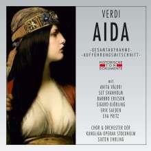 Giuseppe Verdi (1813-1901): Aida (in schwedischer & finnischer Sprache), 2 CDs