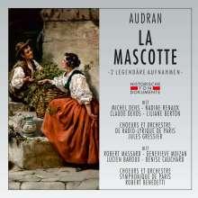 Edmond Audran (1842-1901): La Mascotte, 2 CDs