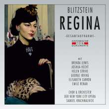 Marc Blitzstein (1905-1964): Regina (Oper nach Lillian Hellman), 2 CDs