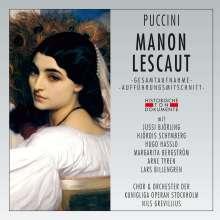 Giacomo Puccini (1858-1924): Manon Lescaut (in schwedischer Sprache), 2 CDs