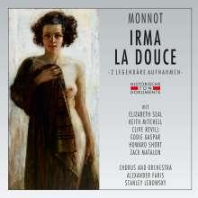 Marguerite Monnot (1903-1961): Irma La Douce (2 Gesamtaufnahmen), 2 CDs