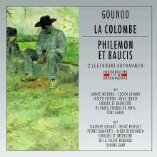 Charles Gounod (1818-1893): La Colombe (gekürzte Aufnahme) & Philemon et Baucis (gekürzte Aufnahme), 2 CDs