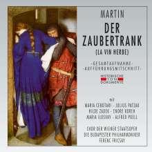Frank Martin (1890-1974): Der Zaubertrank, 2 CDs