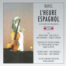 Maurice Ravel (1875-1937): L'heure espagnole (2 Gesamtaufnahmen), 2 CDs