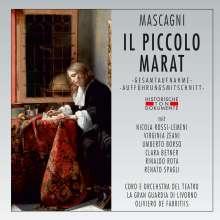 Pietro Mascagni (1863-1945): Il Piccolo Marat, 2 CDs