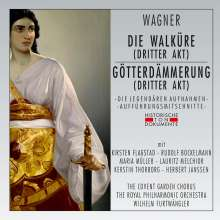 Richard Wagner (1813-1883): Die Walküre (3.Aufzug), 2 CDs