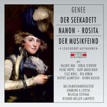 Richard Genee (1823-1895): 4 Operetten in gekürzten Aufnahmen (ohne Dialoge), 2 CDs