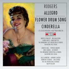 Richard Rodgers (1902-1979): Allegro / Flower Drum Song / Cinderella (Gekürzte Aufnahmen), 2 CDs