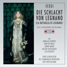 Giuseppe Verdi (1813-1901): La Battaglia di Legnano (in deutscher Sprache), 2 CDs