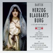 Bela Bartok (1881-1945): Herzog Blaubarts Burg (2 Gesamtaufnahmen in deutscher & ungarischer Sprache), 2 CDs