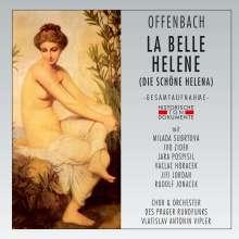 Jacques Offenbach (1819-1880): La belle Helene (in tschechischer Sprache), 2 CDs