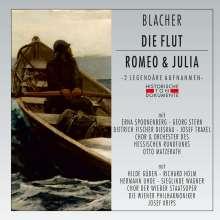 Boris Blacher (1903-1975): Die Flut & Romeo und Julia (2 Aufnahmen), 2 CDs