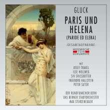 Christoph Willibald Gluck (1714-1787): Paride et Elena (In deutscher Sprache), 2 CDs