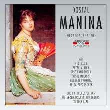 Nico Dostal (1895-1981): Manina, 2 CDs
