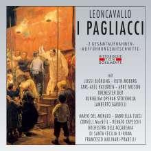 Ruggero Leoncavallo (1857-1919): Pagliacci (2 Gesamtaufnahmen), 2 CDs