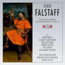 Giuseppe Verdi (1813-1901): Falstaff (in schwedischer Sprache), 2 CDs