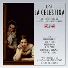 Flavio Testi (1923-2014): La Celestina, 2 CDs
