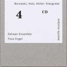 Zafraan Ensemble - Borowski, Holz, Keller: Klangrede, CD