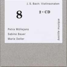 Johann Sebastian Bach (1685-1750): Sonaten für Violine & Cembalo BWV 1014-1019,1021,1023, 2 CDs