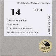"Christophe Bertrand (1981-2010): Sämtliche Instrumentalwerke ""Vertigo"", 3 CDs"